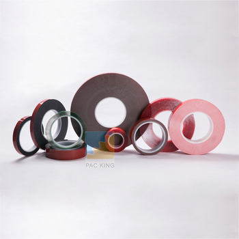 Strong Adhesive Clear Color Double-Sided Tape