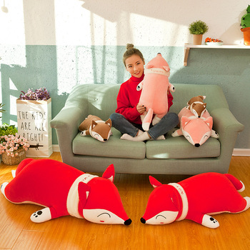 Best-Selling Environmental Protection Material Plush Fox Custom Toys