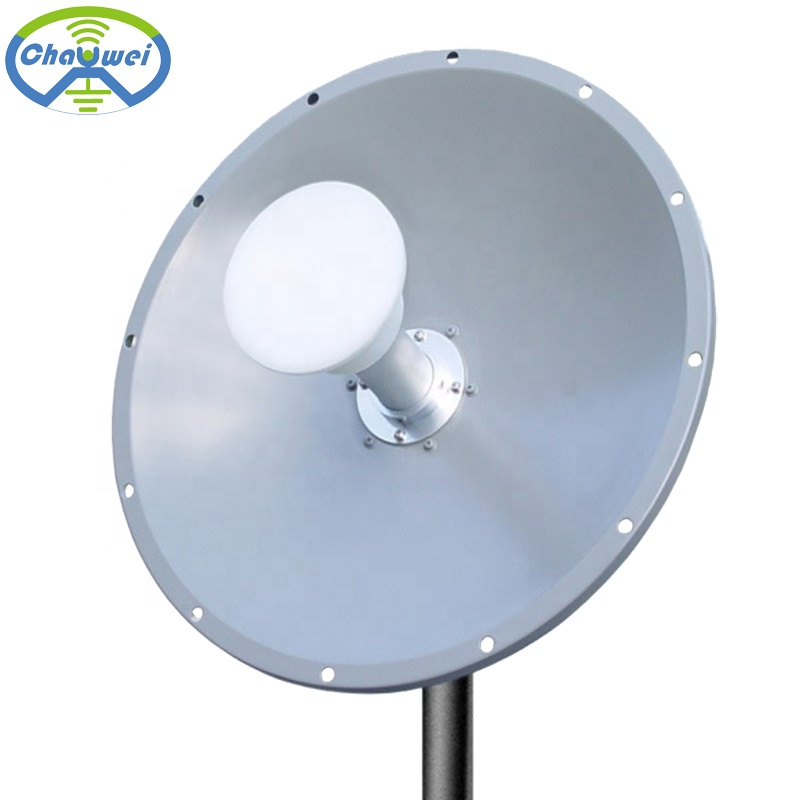 High Gain 3G/4G/LTE 1700-2700MHz 24dBi 2x2 MIMO 4G Parabolic Dish <strong>Antenna</strong>