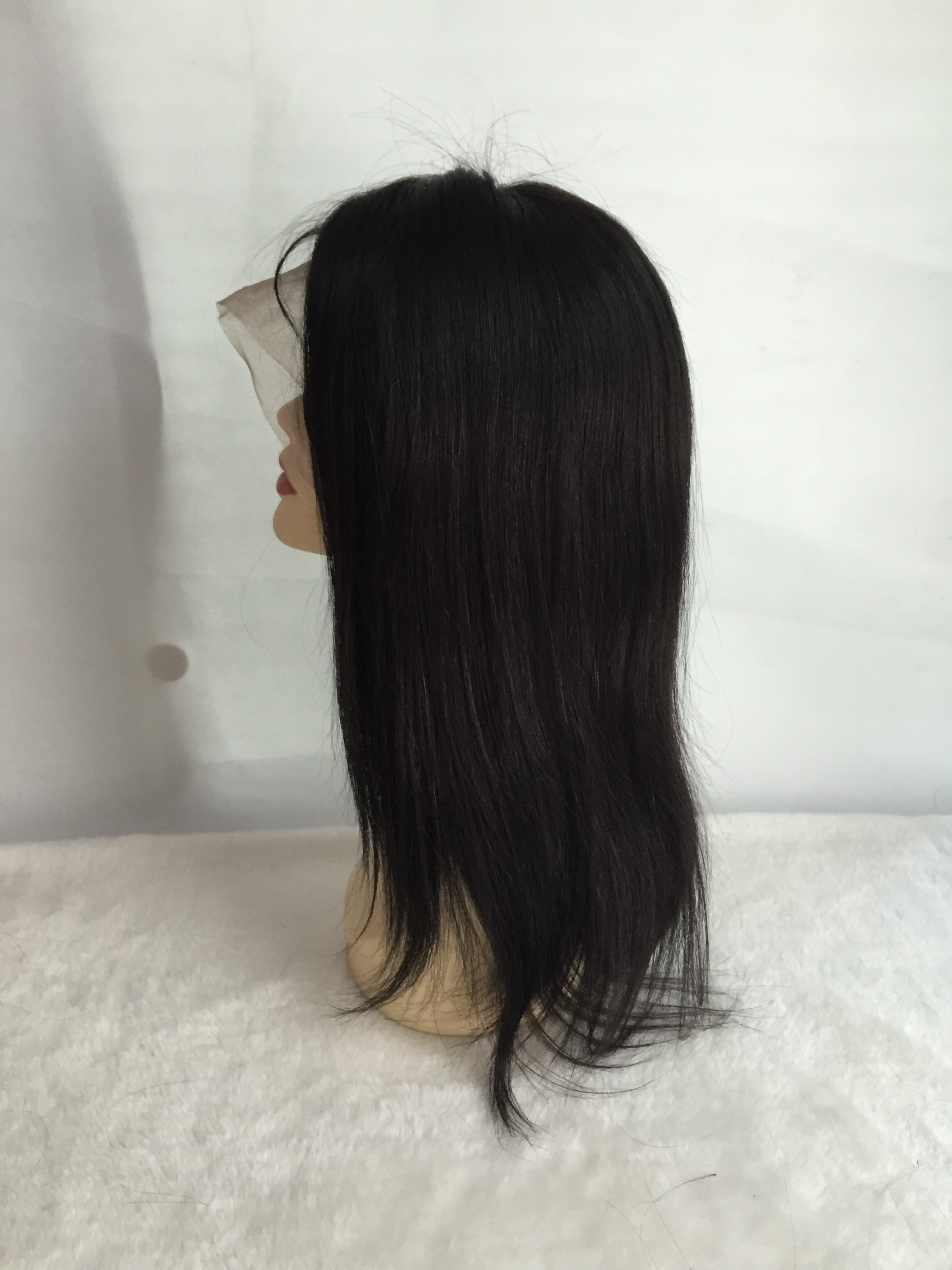 High Quality Quick Delivery Human Hair Silk Top Full Lace Wig