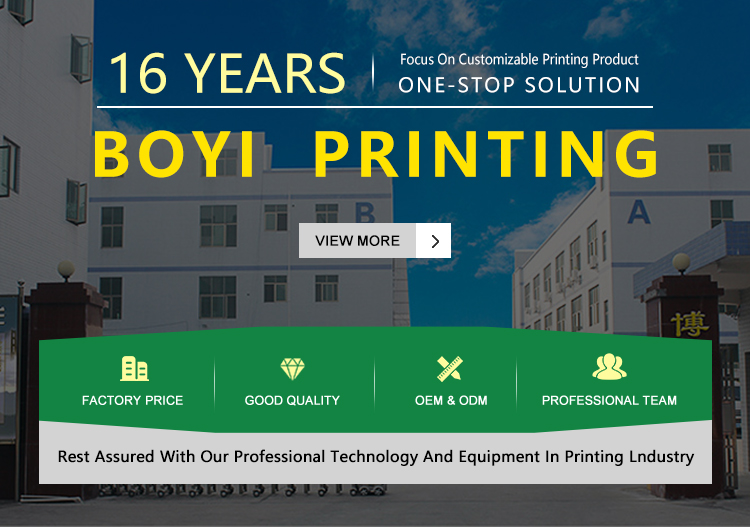 BOYi Printing is a leading manufacturer for sticky notes,memo pads,paper box and notebooks since 2003