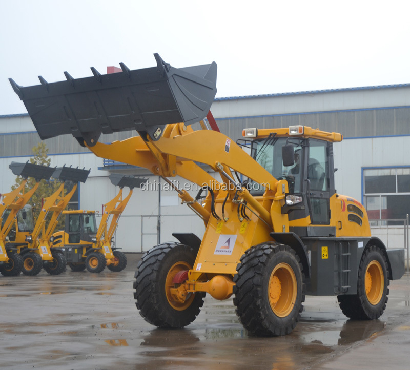 3 ton payload 835H front end new hydraulic articulated  mini wheel loader for sale