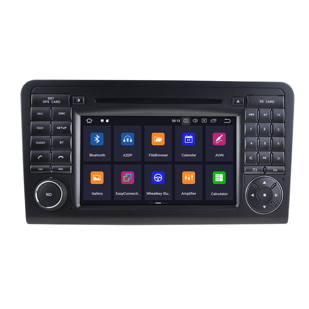 <strong>Android</strong> 10.0 4GB+64GB Car Radio GPS Navigation For Mercedes Benz GL ML CLASS <strong>W164</strong> ML350 ML50 Multimedia Player Auto Radio ISP