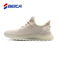 2019 Men fashion sneakers new scale fly weaving upper breathable casual shoe walking man yezzy running sport shoes
