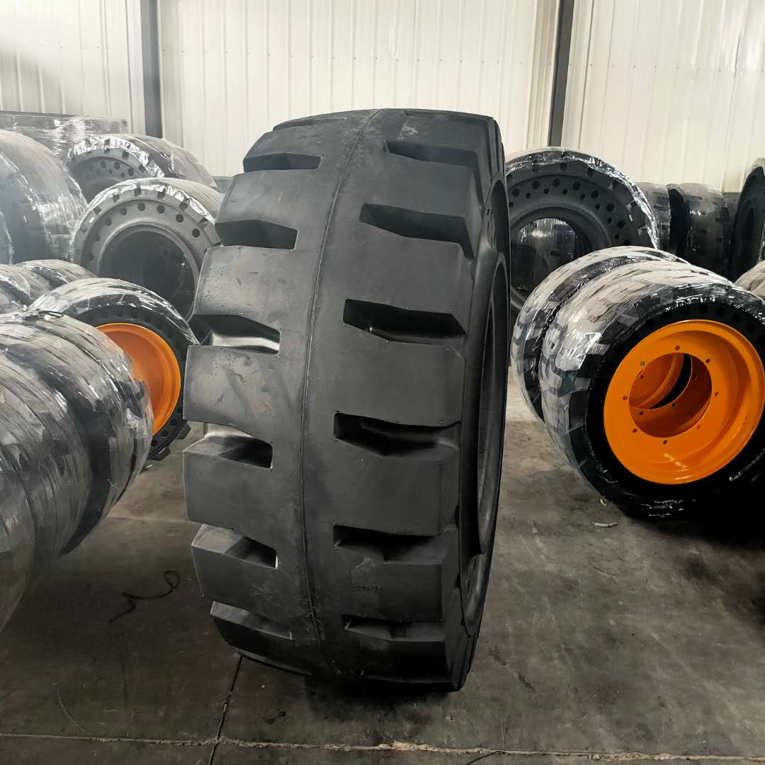 High Performance tire heavy duty 23.5-25 industrial tyre solid tires