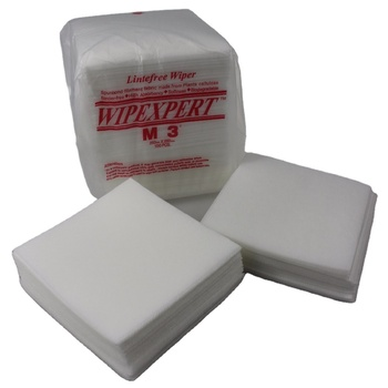 Lint Free M-3 White Industrial Disposable Lint Free Nonwoven Cleanroom M-3 Clean Wiper