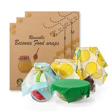 Professional manufacturer reusable beeswax food wrap beeswax food <strong>paper</strong>