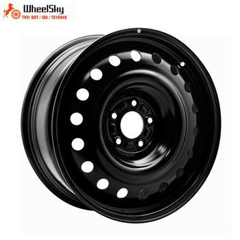 WheelSky 895704 winter snow 18x7.5 PCD 5x1143 18 inch steel wheel rims for passenger car