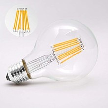 Vintage LED filament bulb dimmable 4w 6w E26 E27 Base antique G80 G95 G125 decorate light 110-240v