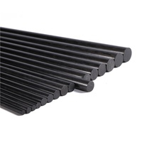 0.5mm to 25.4mm Length Round Solid Carbon Fiber Rods/Sticks