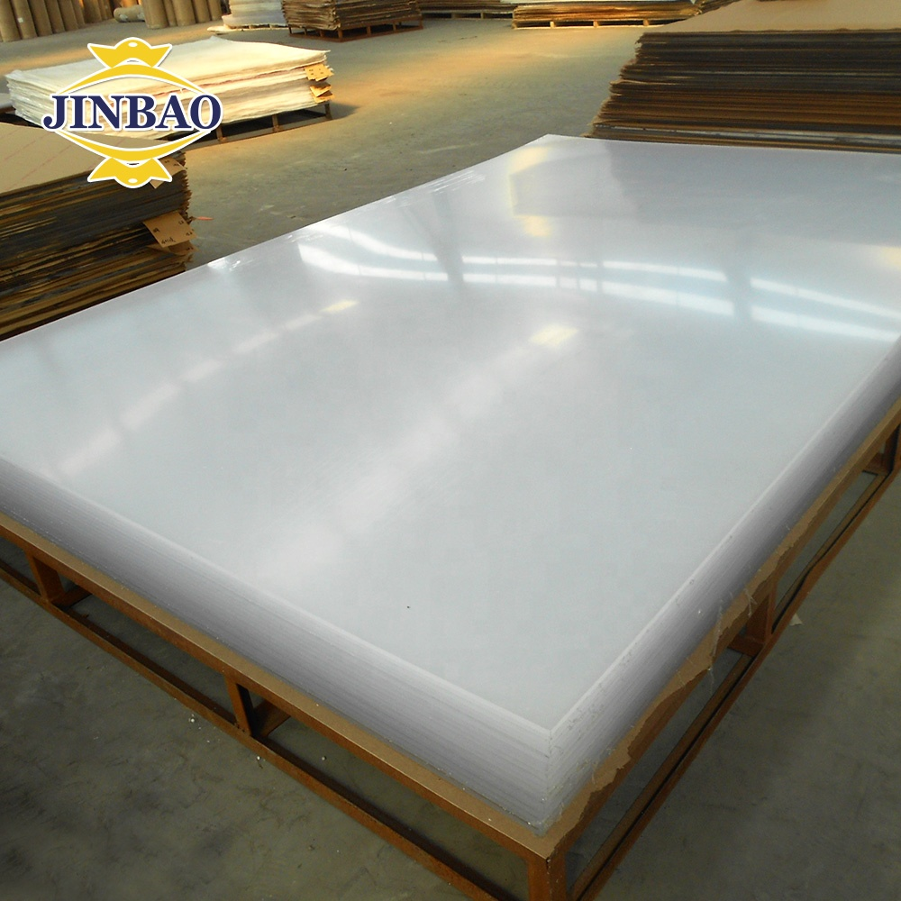 JINBAO heat resistant 2050 <strong>x</strong> 3050mm <strong>1250</strong> <strong>x</strong> 2450mm transparent 3mm 5mm pmma sheet for signage