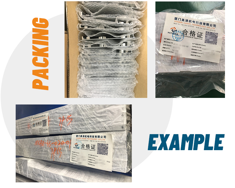 packing example