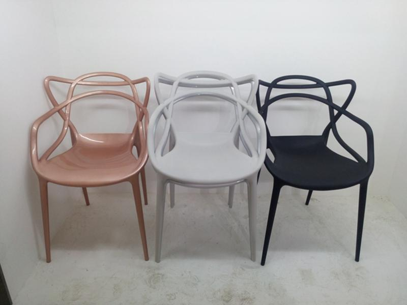 Factory Cheap Modern Furniture Stacking Restaurant Furniture Cafe Master Polypropylene Plastic chair