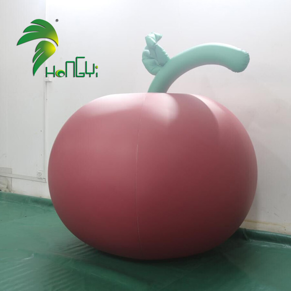 Event Display Factory Self Inflating Apple Inflatable Balloons Model