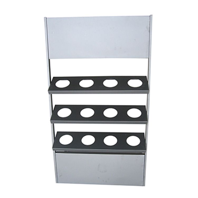 HYX-A075 faucet display stand rack, display rack for sanitary appliance