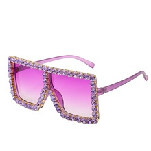 diamond flat top big square 2020 new arrivals unique retro fashion shades custom designer luxury <strong>plastic</strong> <strong>sunglasses</strong> women 57055