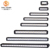 Brightest led light bar for off-road car lights with Single Row light bar 4 inch - 42 inch wholesale led light for working