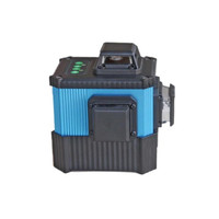 New Product 3D Cross Green Rotating 532nm 6 Line Laser Level 360 Degree