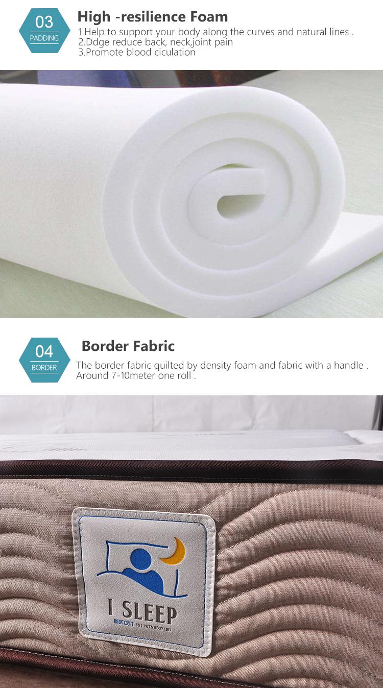 Dingsheng full topper xl twin hybrid mattress - Jozy Mattress | Jozy.net