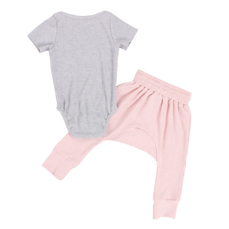 Wholesale baby clothes design kids children clothing set baby girl clothes