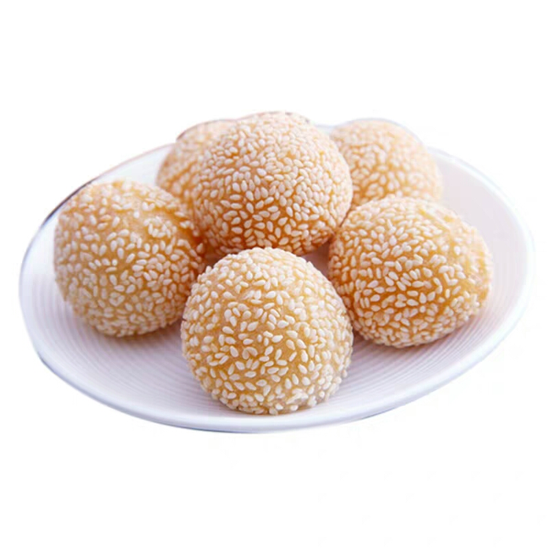 Wholesale Frozen Fried Sesame Balls chinese traditional snacks Dimsum Glutinous <strong>Rice</strong> Sesame Seed Ball