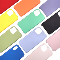 TENCHEN Soft liquid silicone case for iphone,protective case for iphone