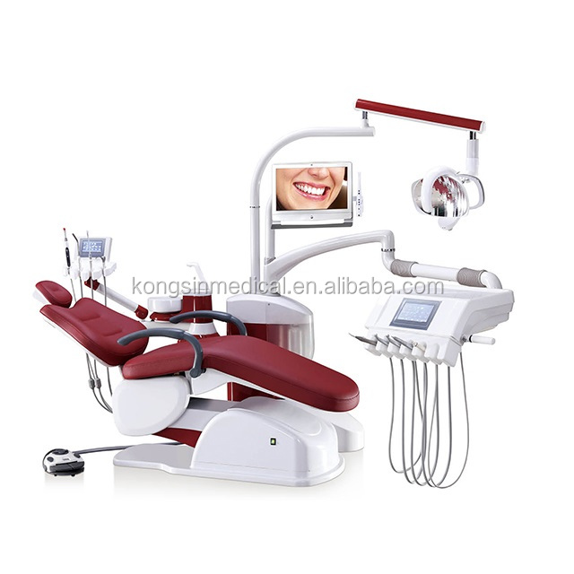 A6800 Integral electric dental unit with touch screen control system