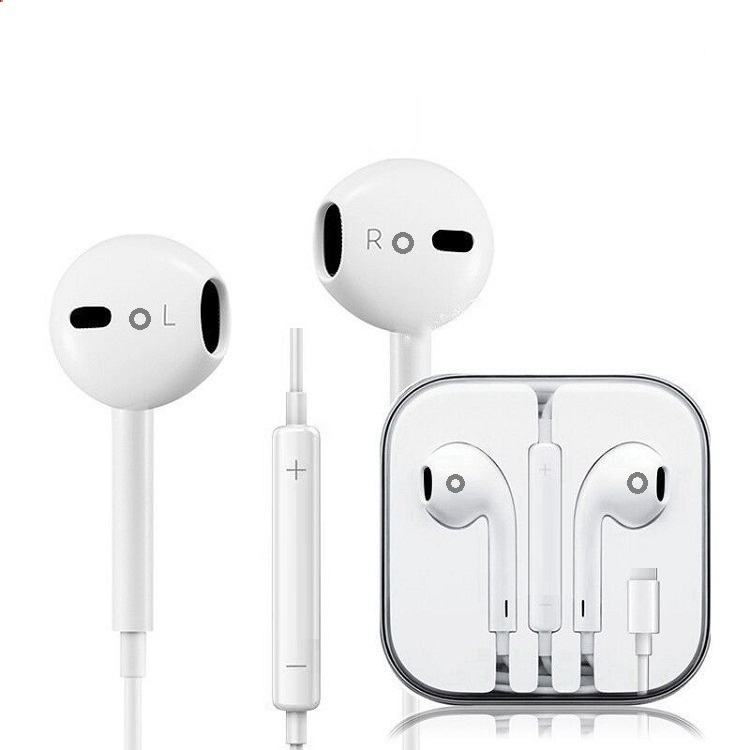 High <strong>Quality</strong> Pop-Up Window With Wired Control And Mic Earphones For Lightning Connector For iphones