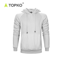 TOPKO high quality Custom-Made streetwear gym sweaters men hoodie