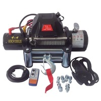 new model waterproof 13000LB warn winch for 4x4 auto off-road recovery