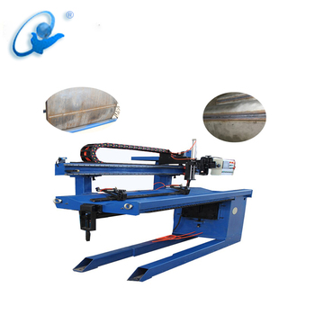 Automatic Stainless Steel Duct Straight Seam Welding Machine