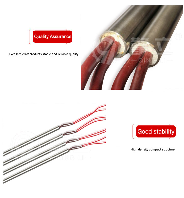 Industrial Electric Heating Element for Heat Sink Air Heating Tube