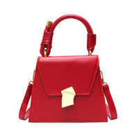 Summer Korean Chic Ladies Trendy shoulder Bags Simple Color leather hand bag shoulder bag women