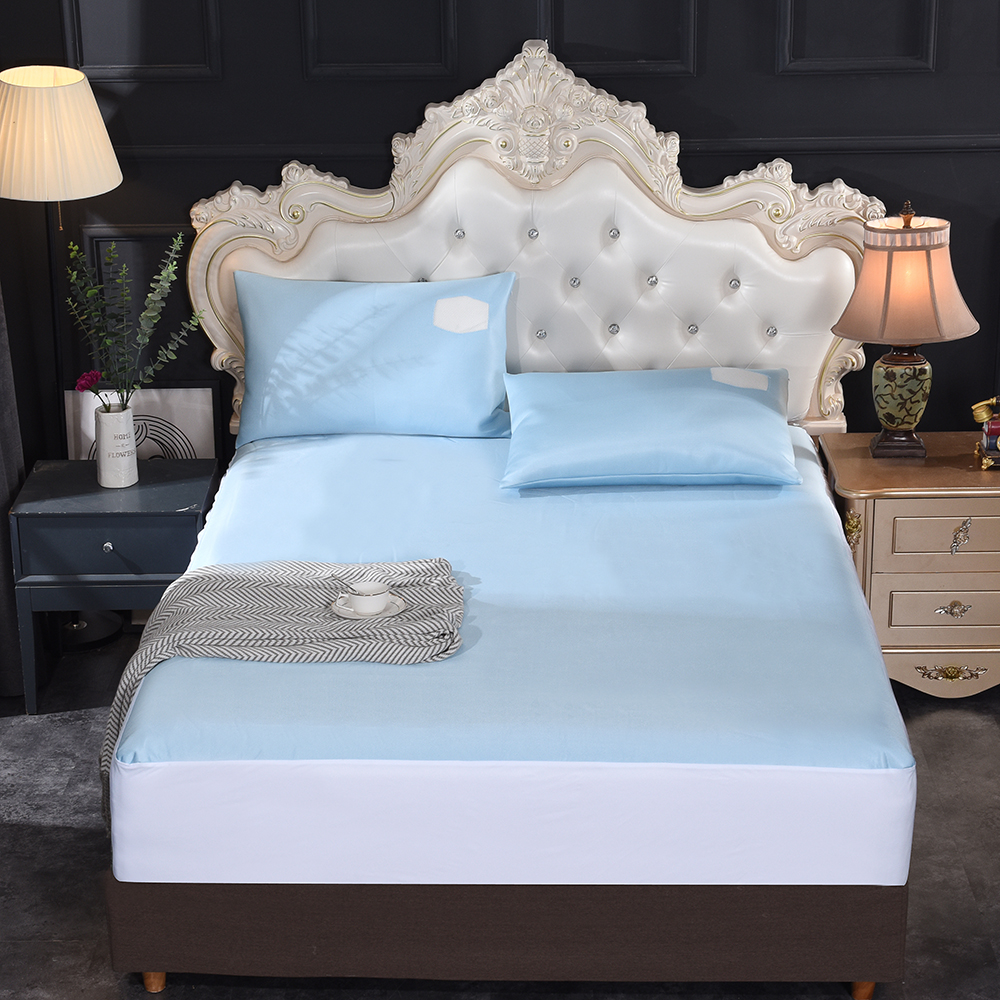 AliExpress The factory wholesale OEM 120GSM Cool to The Touch Cooling Fabric with TPU Waterproof Mattress Protector /bedding - Jozy Mattress | Jozy.net