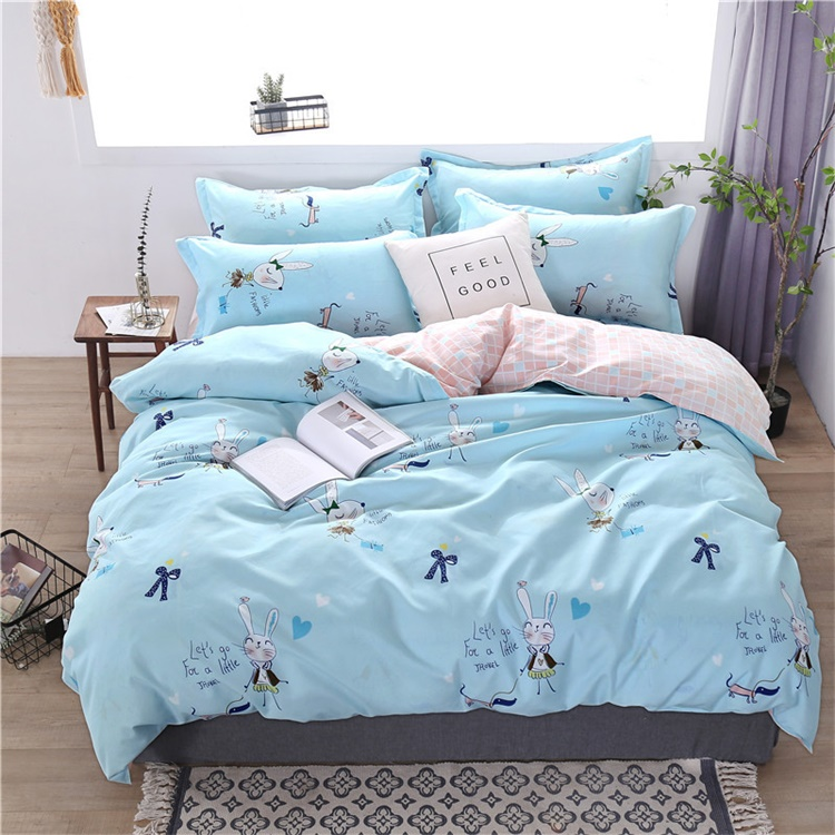 Plant design home poly polyester <strong>cotton</strong> cover baby boy bedding set baby cot bedding set