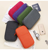 Premium factory direct sale waterproof travel phone card organizer case wallet passport holder