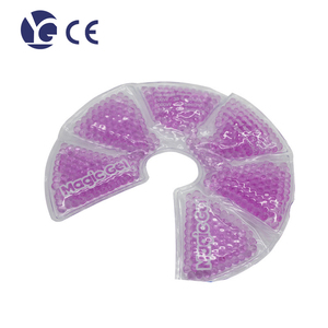 PVC material breast pad relieve breast pain gel pad breast hot cold pad