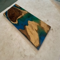 Live edge Resin inlay top epoxy inlay table epoxy resin wood table