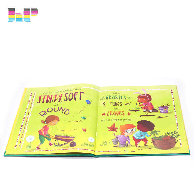 hardcover children books printing,full color glossy lamination hardcover books printing,custom colorful cartoon children books printing
