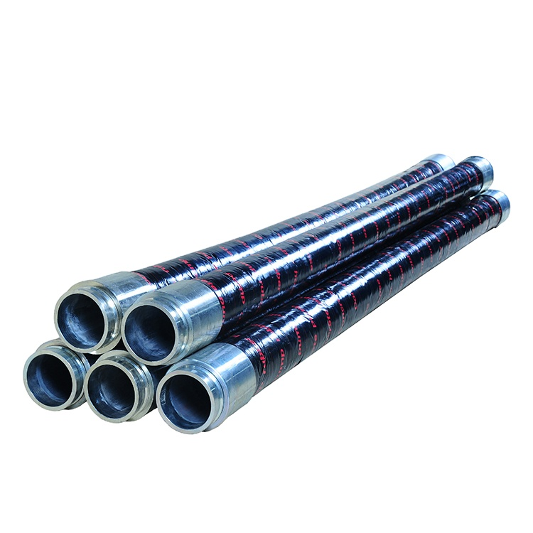 High Pressure 5 Inch DN125 Concrete Pump Rubber End <strong>Hose</strong>