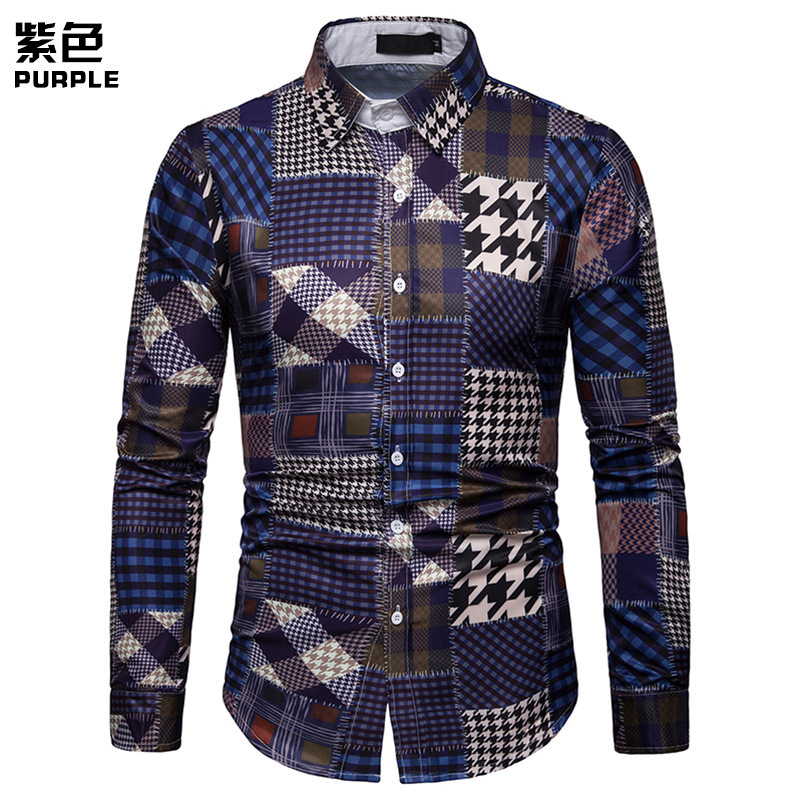 Wholesale Newest <strong>Men's</strong> Clothing Plaid Casual Shirts for <strong>men</strong>