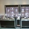 New design jewelry counter display cabinet