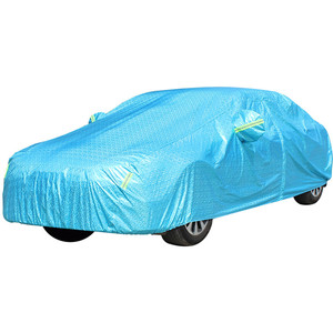 Durable Anti theft UV Protection PEVA & PP Cotton Car auto Cover Waterproof