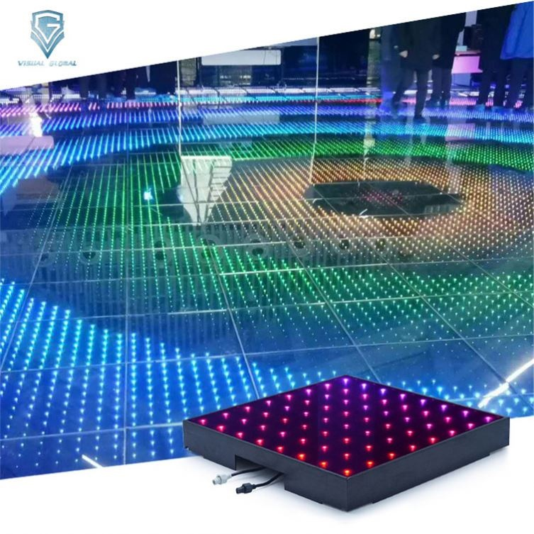 Latest Hotel Decoration Multicolor Dynamic <strong>Point</strong> Led Dance Floor