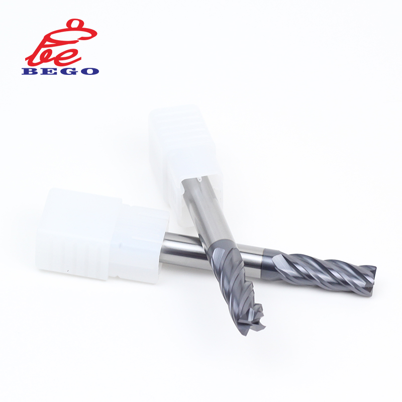 Carbide End Mill Cutters <strong>D12</strong> X100 HRC60 Made In China