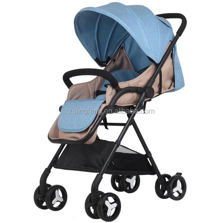 Passed EN1888 High Landscape Light Weight Foldable Easy Go Baby Stroller