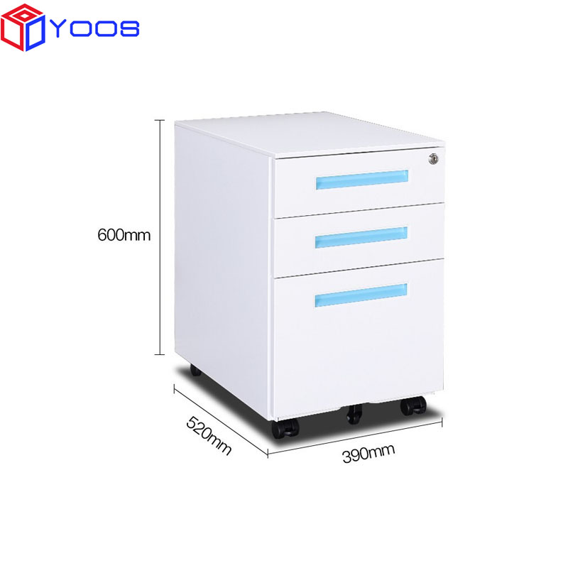 Factory Wholesale Metal File Modern Drawer Cabinet