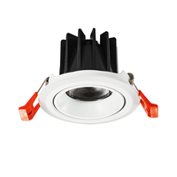HH7 Adjustable 3w 5w 4 Inch Frame Micro Warm Holders Ac White Price W Mini Focos Lamp Spot Light Ceiling COB LED Spotlight