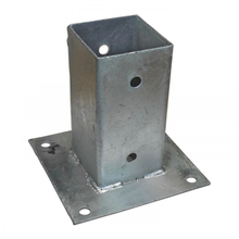 post brackets bed connecting square tube bracket