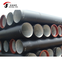 top quality ductile pipe epoxy coated ductile iron k9 tube